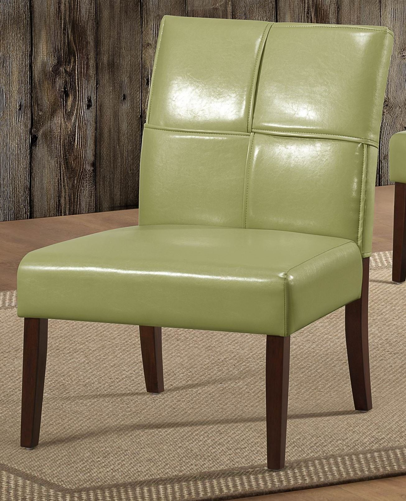 Oriana Green Accent Chair from Homelegance 1215GRS