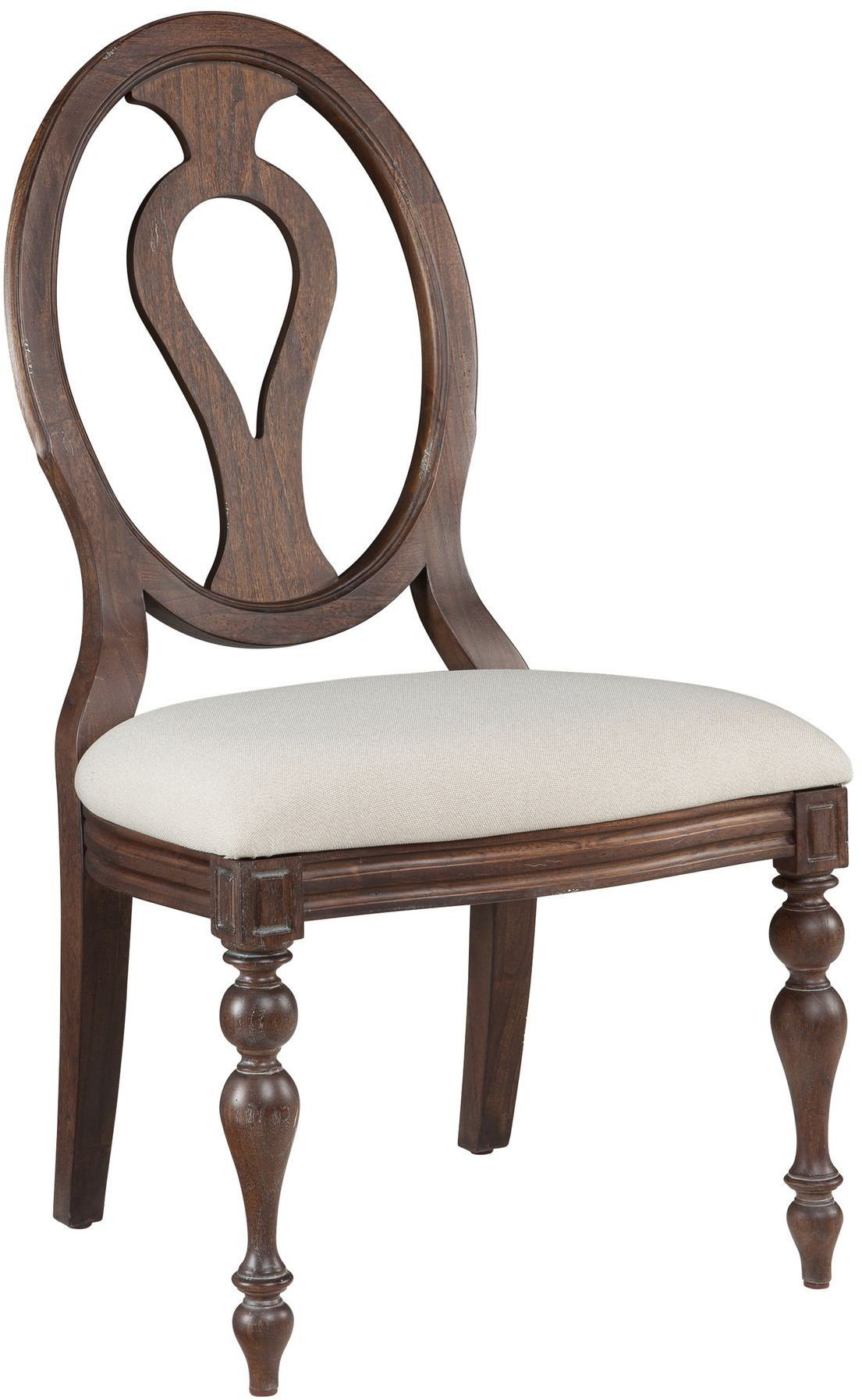 Oval Back Chair Homestead Molasses Oval Back Side Chair Set Of 2 From
