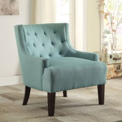 Accent Chair Teal Pink Covers Dulce From Homelegance 1233tl
