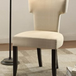 Beige Accent Chairs Bedroom Chair Used Alta Fabric Set Of 2 From Homelegance
