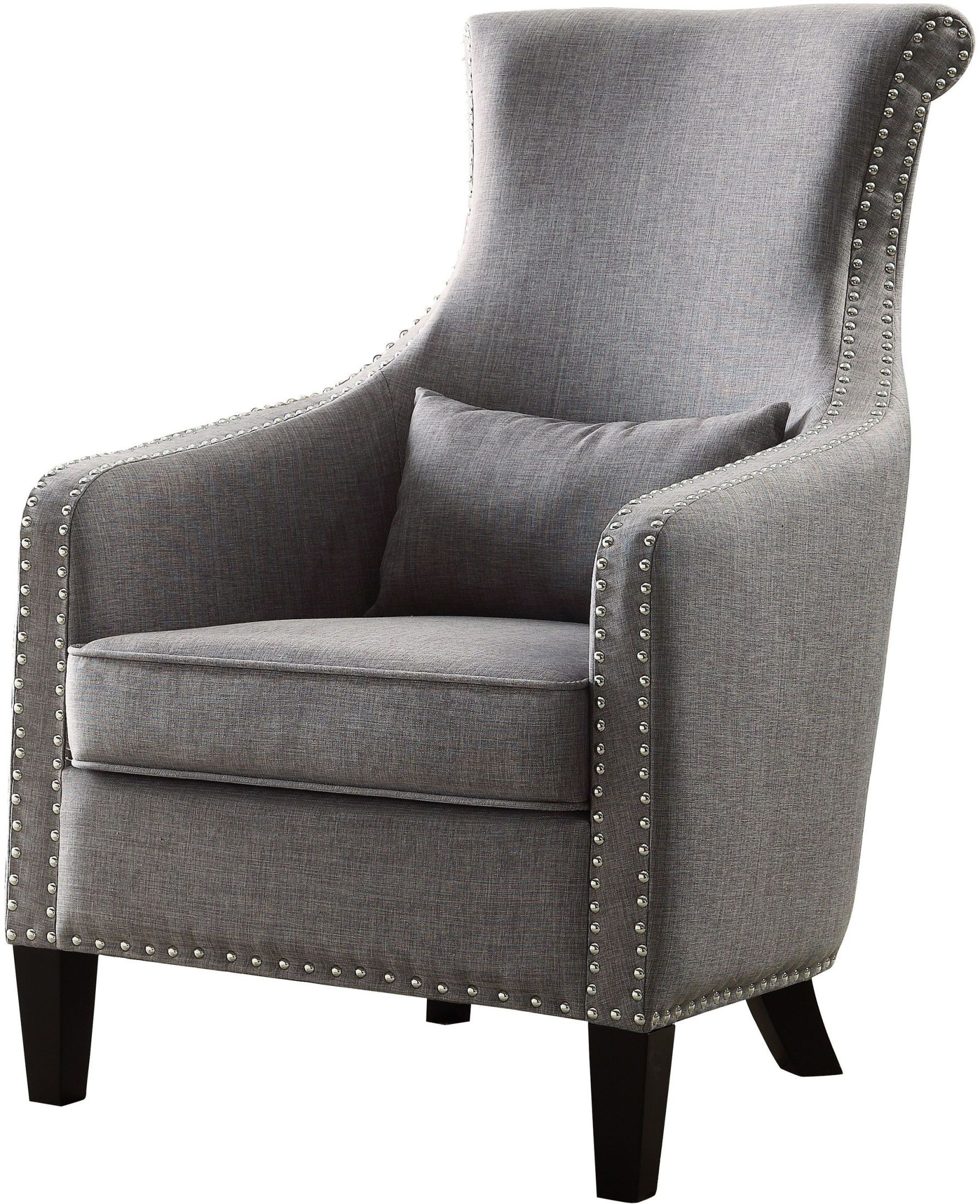 Grey Accent Chairs Arles Grey Accent Chair 1270f1s Homelegance