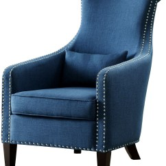 Accent Chair Blue Minnie Mouse Foam Arles From Homelegance Coleman Furniture