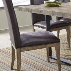 Springs For Chairs Eames Chair Knock Off Haley Brown Upholstered Side Set Of 2 From