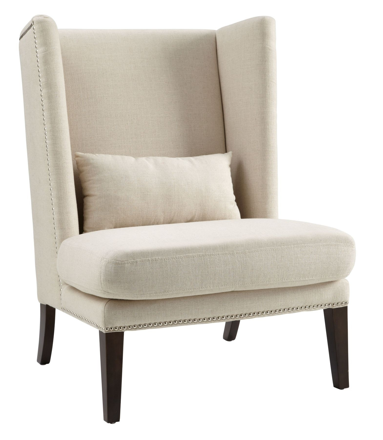 Wing Chair Malibu Linen Fabric Wing Chair From Sunpan 12996