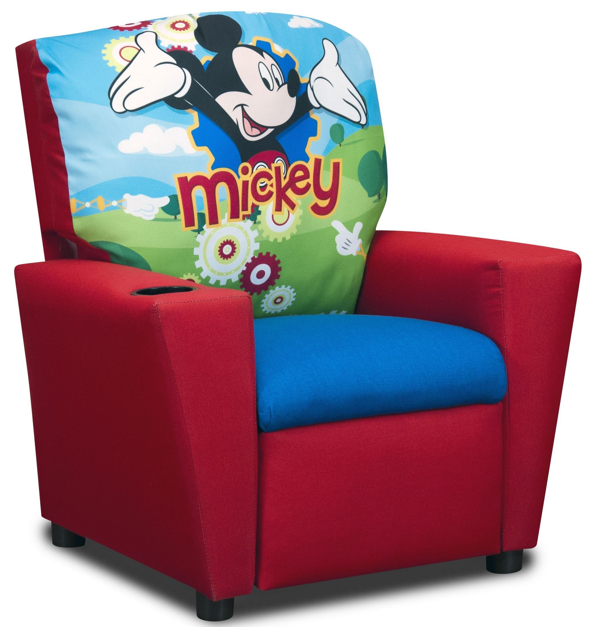minnie mouse upholstered chair canada computer floor mat kidz world recliner furniture youth mossy oak