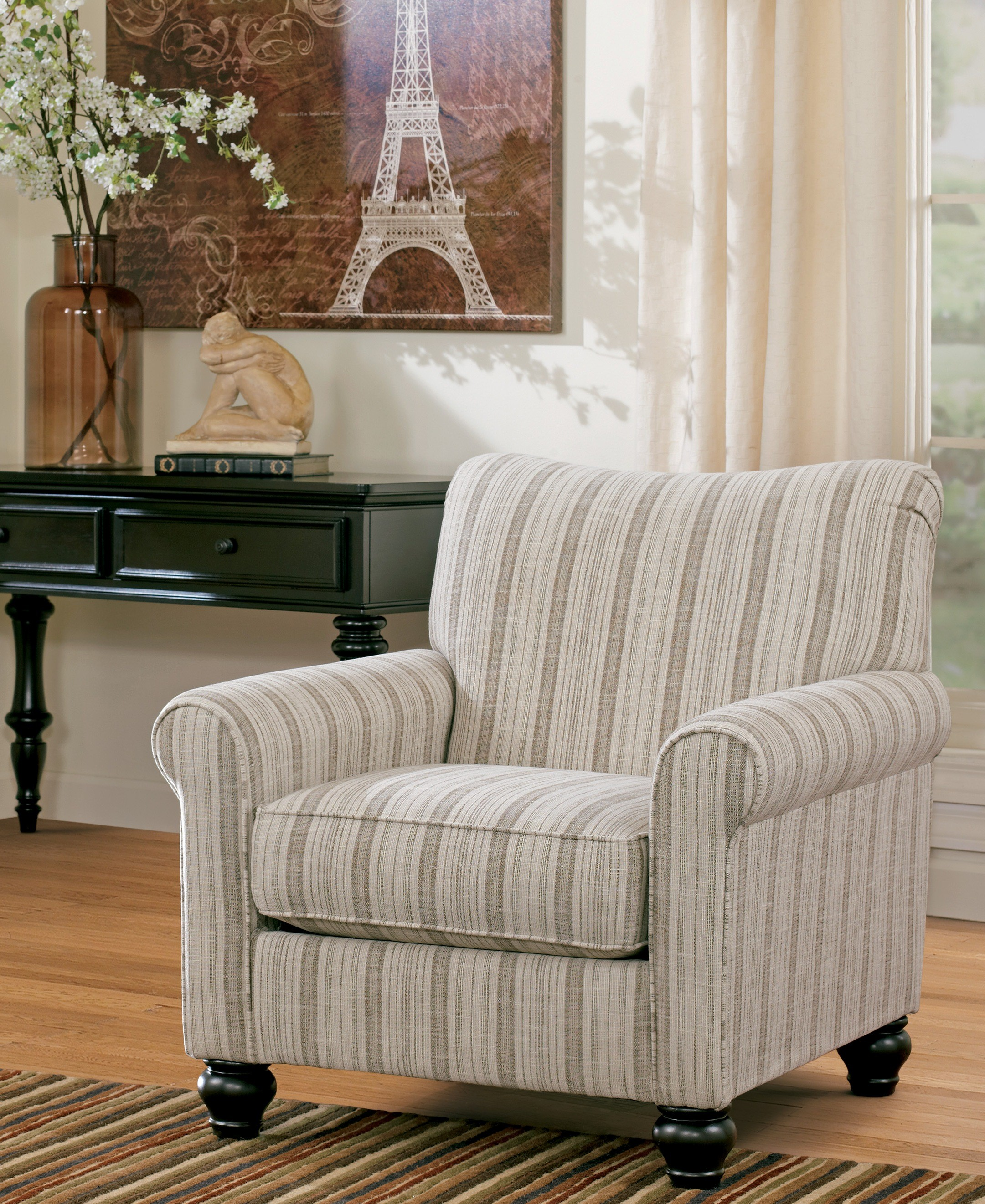 accent chairs under 200 2 armless chair sectional milari linen from ashley 1300021 coleman