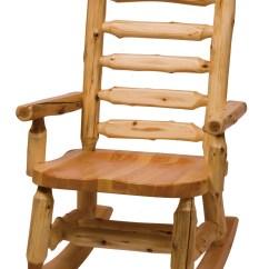 Coleman Rocking Chair Posture Nz Cedar Contoured Seat From Fireside Lodge