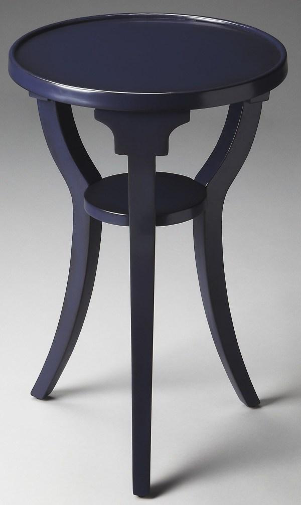 Dalton Loft Blue Accent Table Butler 1328291