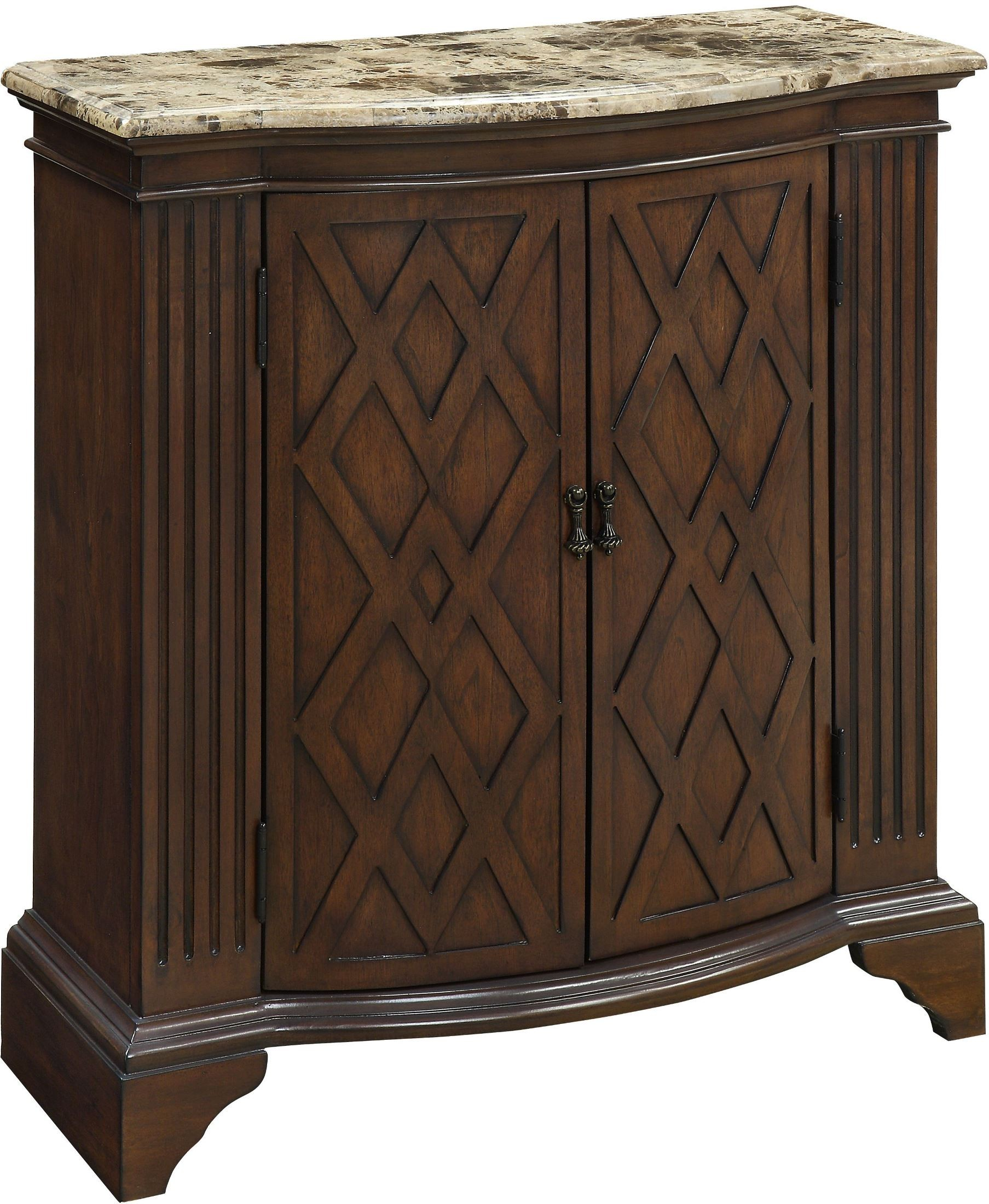 Barrister Warm Brown 2 Door Cabinet from Coast to Coast