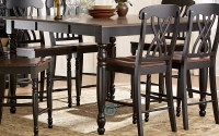 Ohana Black Counter Height Table from Homelegance (1393BK ...