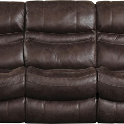 Power Reclining Sofa Made In Usa Emerald Green Slipcover Valiant Coffee From Catnapper