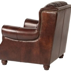 Rustic Leather Chair Match Fishing Appalachian Savauge From Lazzaro Wh