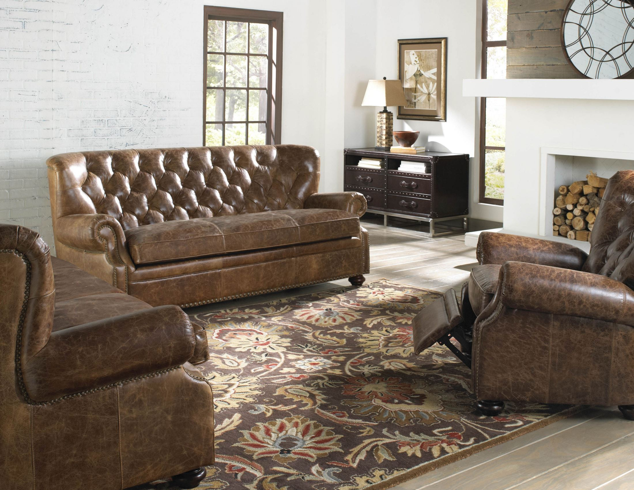 next brompton leather sofa designer beds louis coco living room set from lazzaro