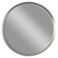 Serenza Round Silver Mirror from Uttermost (14547