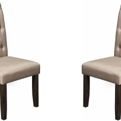 Grey Parsons Chair Ozark Trail Folding Replacement Parts Newberry Tufted Parson Set Of 2 From Alpine