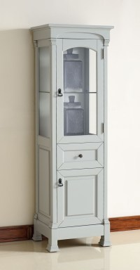 Brookfield Urban Gray Linen Cabinet, 147-114-5096, James ...