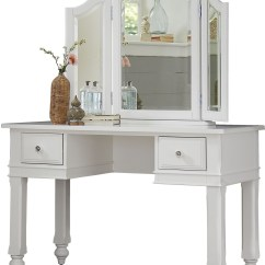 Chair Plus Stool Hanging Hammock Chairs Lake House White Writing Desk With Vanity Mirror From Ne Kids | Coleman Furniture