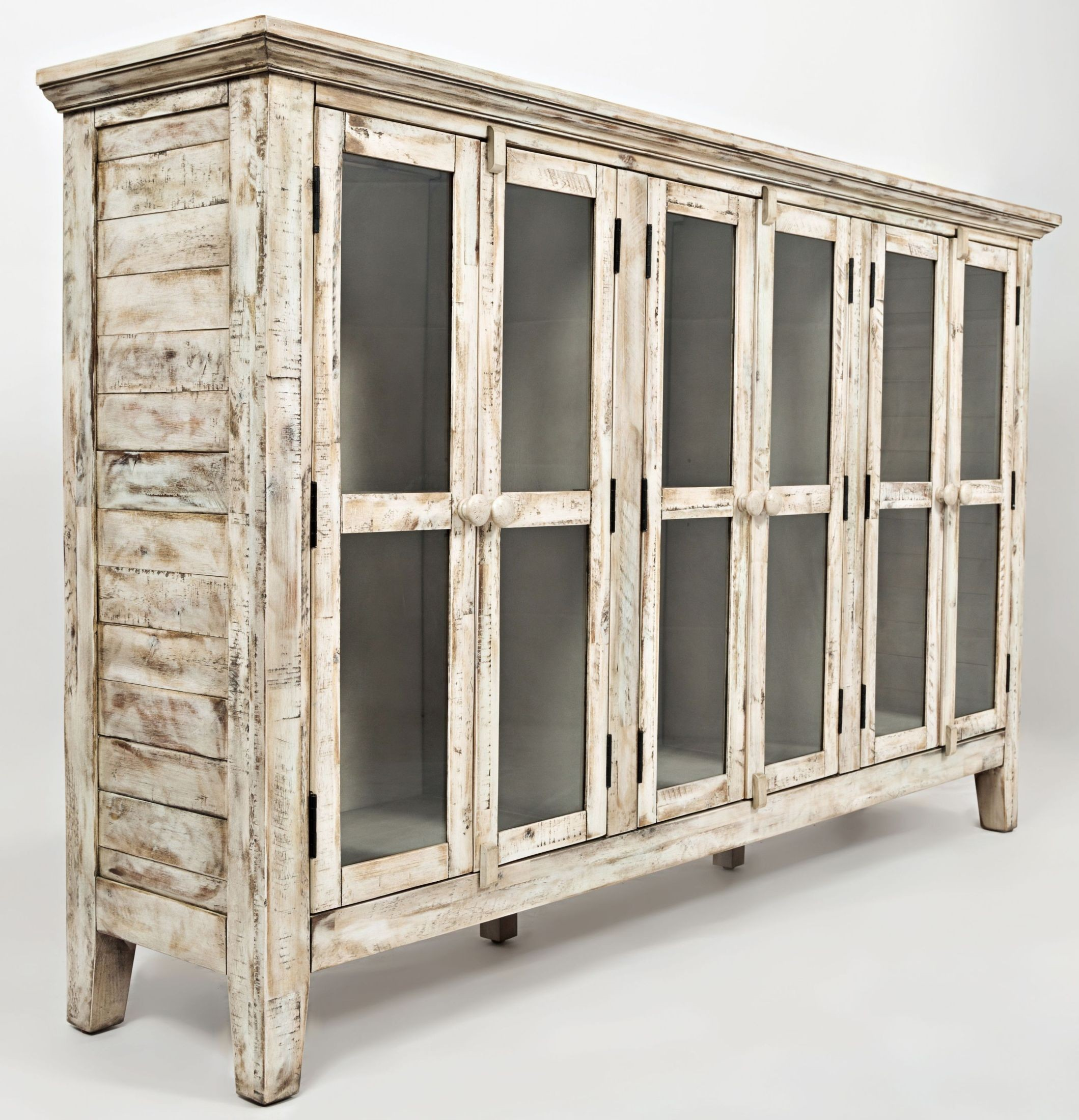 """Rustic Shores Scrimshaw 70"""" Accent Cabinet from Jofran"""