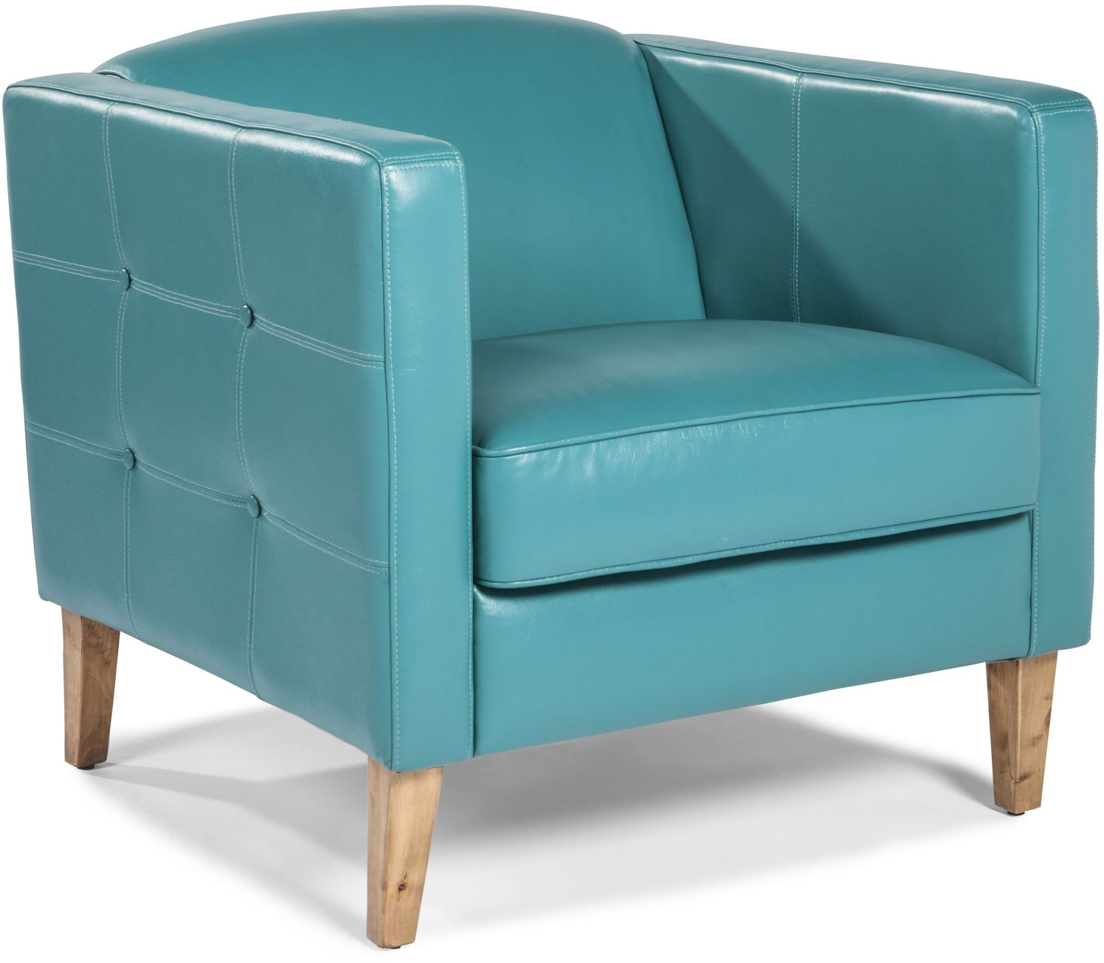 Teal Leather Chair Miami Teal Leather Chair From Lazzaro Coleman Furniture