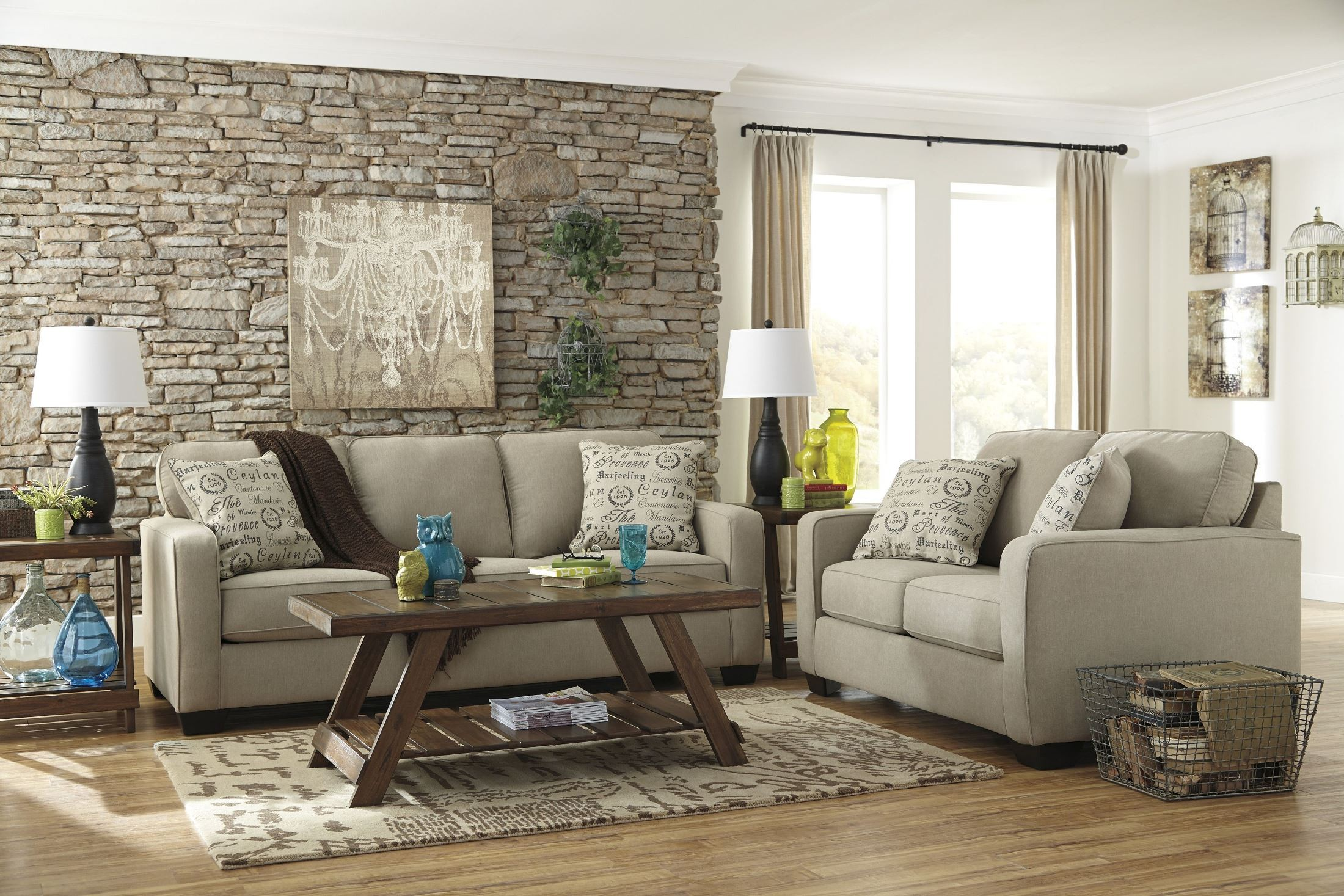 ashley alenya quartz sofa reviews l sectional india queen sleeper from 1660039
