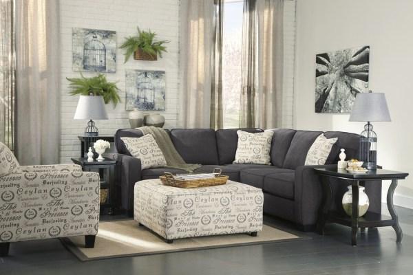 Ashley Furniture Alenya Sofa Charcoal