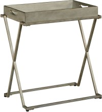 Devien Silver Tray Table, 16644, Accents International