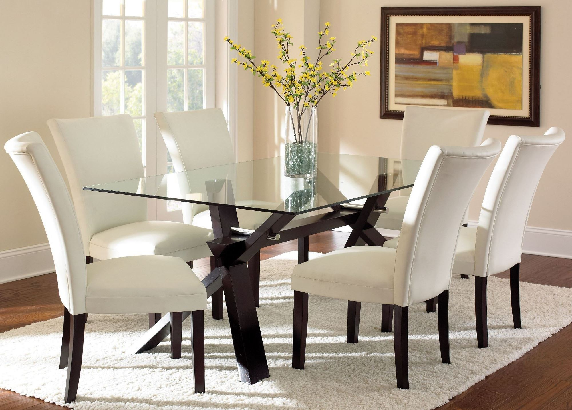 Berkley Dark Espresso Rectangular Dining Room Set From