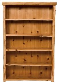 Cedar Large Bookshelf from Fireside Lodge (17030 ...