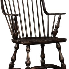 Windsor Chair With Arms Coleman Deck Rubbed Black Arm 1726i4 Furniture Classics