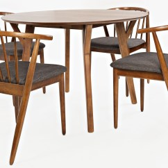 Copenhagen Dining Chairs Table And Done Deal Brown Round Room Set From Jofran
