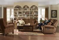 Stafford Tobacco Reclining Living Room Set from Catnapper ...