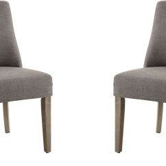 Gray Side Chair Best High For Bar Height Table By Donny Osmond Set Of 2 From Coaster