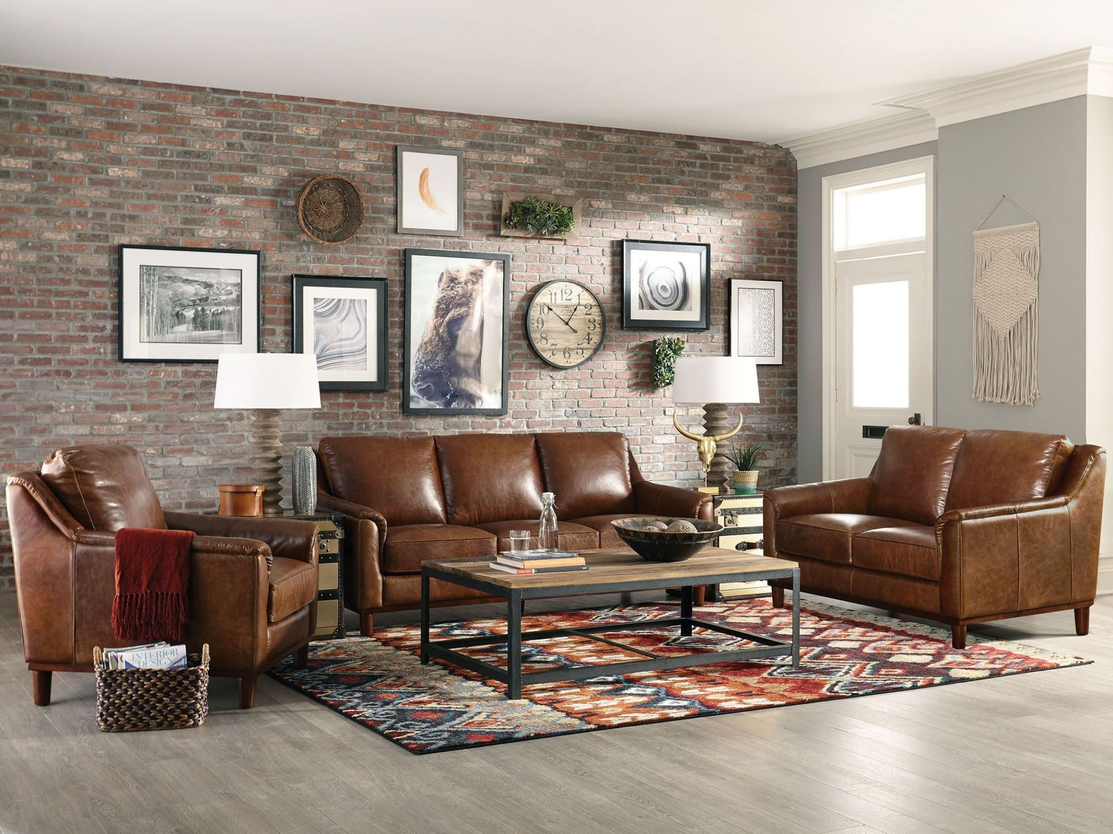 Maddox Coco Brompton Living Room Set from Lazzaro