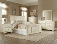 Laurinda Antique White Panel Bedroom Set from Homelegance ...
