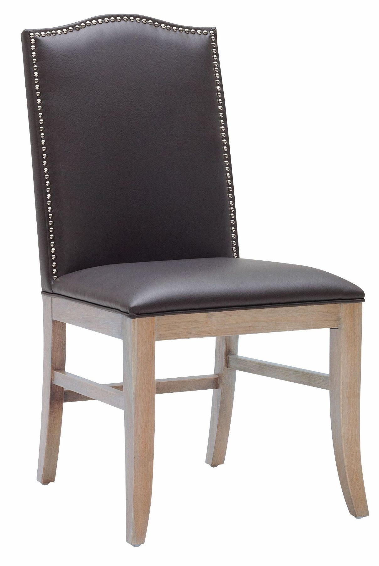 Gray Dining Chair Maison Gray Leather Dining Chair Set Of 2 From Sunpan