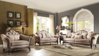 Bonaventure Park Cream Living Room Set from Homelegance ...