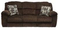 Transformer Chocolate Reclining Sofa from Catnapper ...