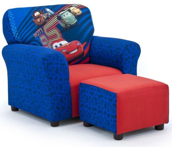 Kids Chair and Ottoman Set