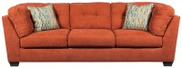 Delta City Rust Sofa from Ashley (1970138) | Coleman Furniture