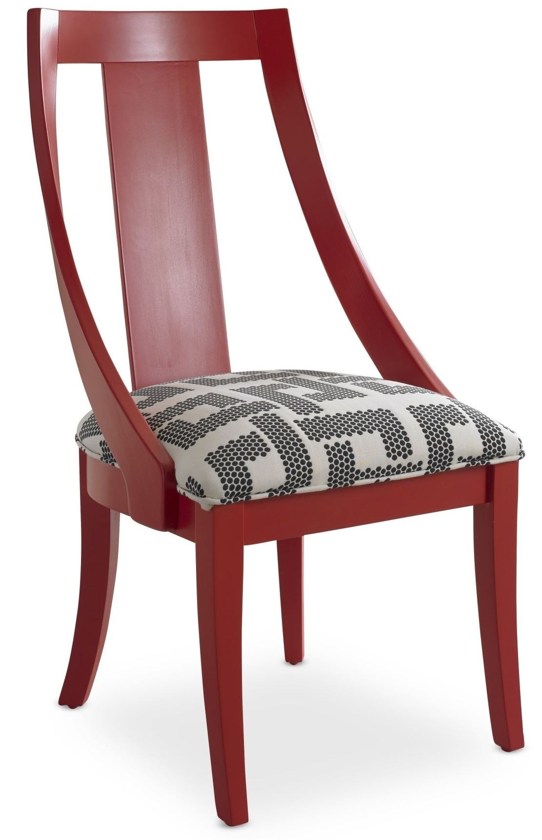 Red Slipper Chair Open Seating Red Rosie Slipper Chair From Somerton