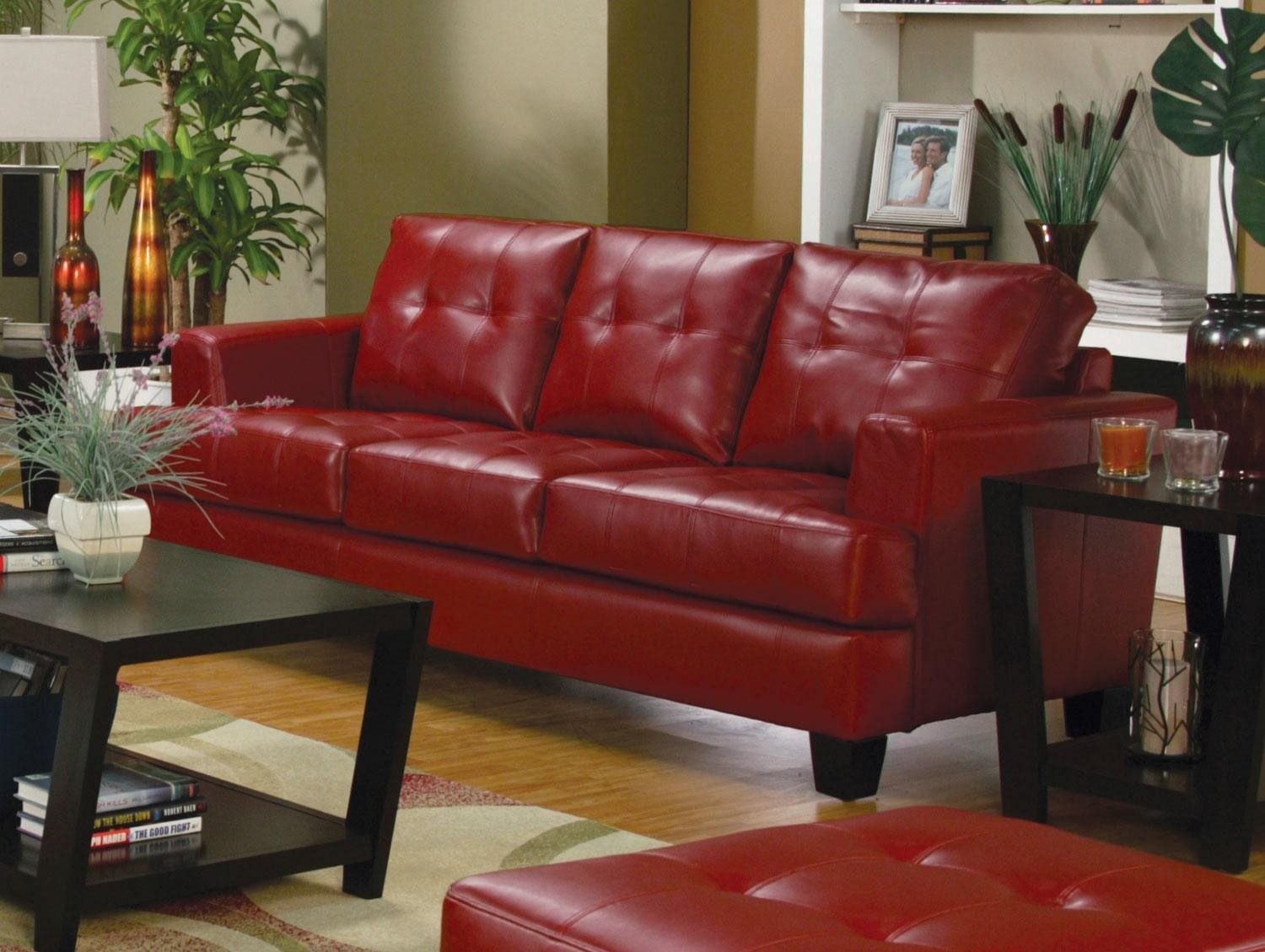 red leather sofa sets on sale low price sofas samuel living room set 501831 from coaster