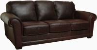 Mark Whiskey Finish Italian Leather Sofa , LUK-MARK-S ...
