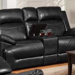 Glider Sofa Decorating Ideas For Living Room With Red Cortez Black Dual Reclining Loveseat Console