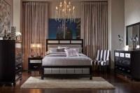 Barzini Black Platform Bedroom Set, 200891Q, Coaster Furniture