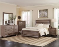 Kauffman Washed Taupe Panel Bedroom Set from Coaster ...