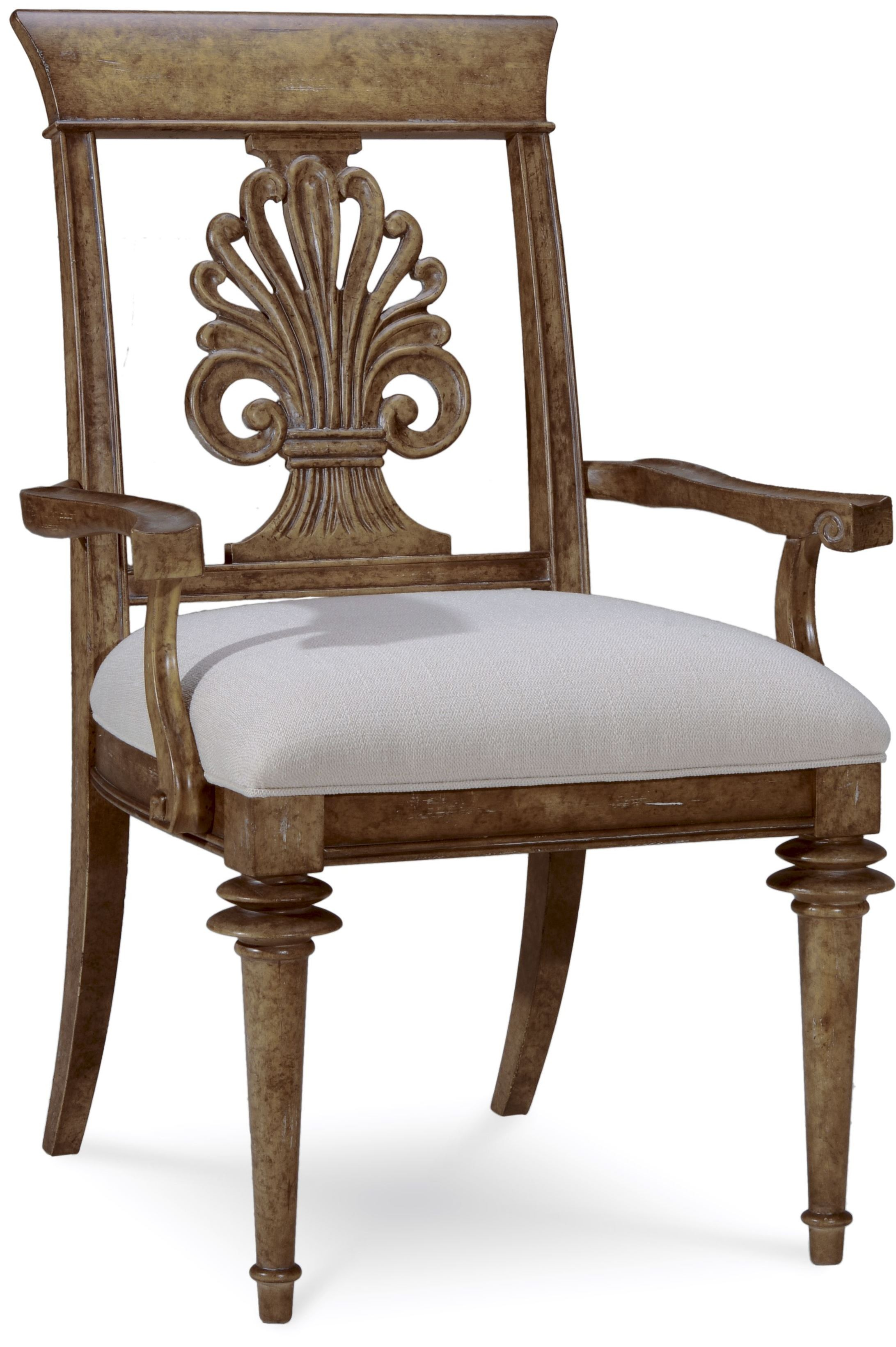 Pavilion Chair Pavilion Wood Back Arm Chair From Art 229203 2608
