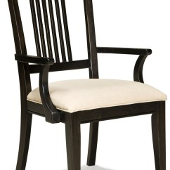 Spindle Arm Chair Pottery Barn Swivel Pleasant Grove Java Back 2301 241 Kd