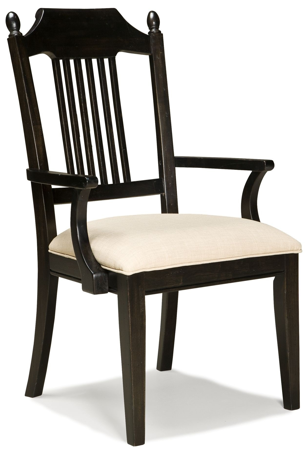 Spindle Arm Chair Pleasant Grove Java Spindle Back Arm Chair 2301 241 Kd