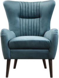 Dax Blue Mid Century Accent Chair from Uttermost | Coleman ...