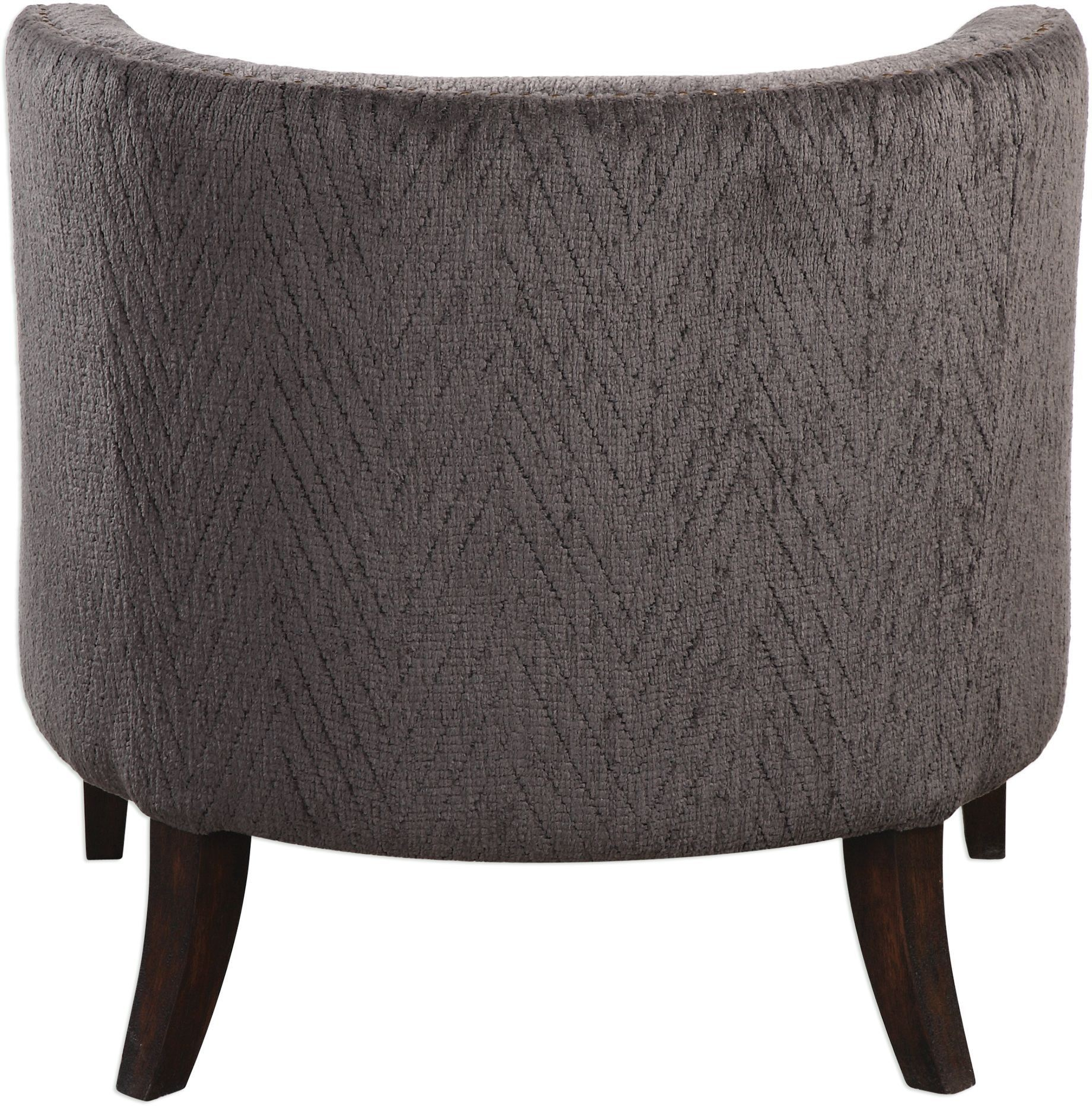 geometric accent chair grey sashes suzuka gray from uttermost